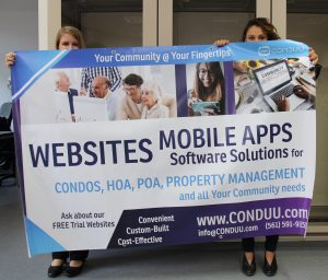 Condo and HOA expo banner